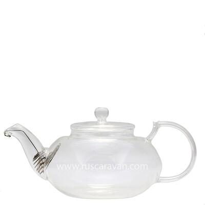 183518 Чайник с пружиной стекло 400 мл