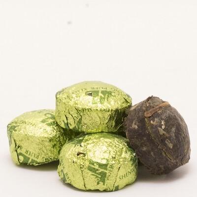 0400к Чай прессованный зеленый
