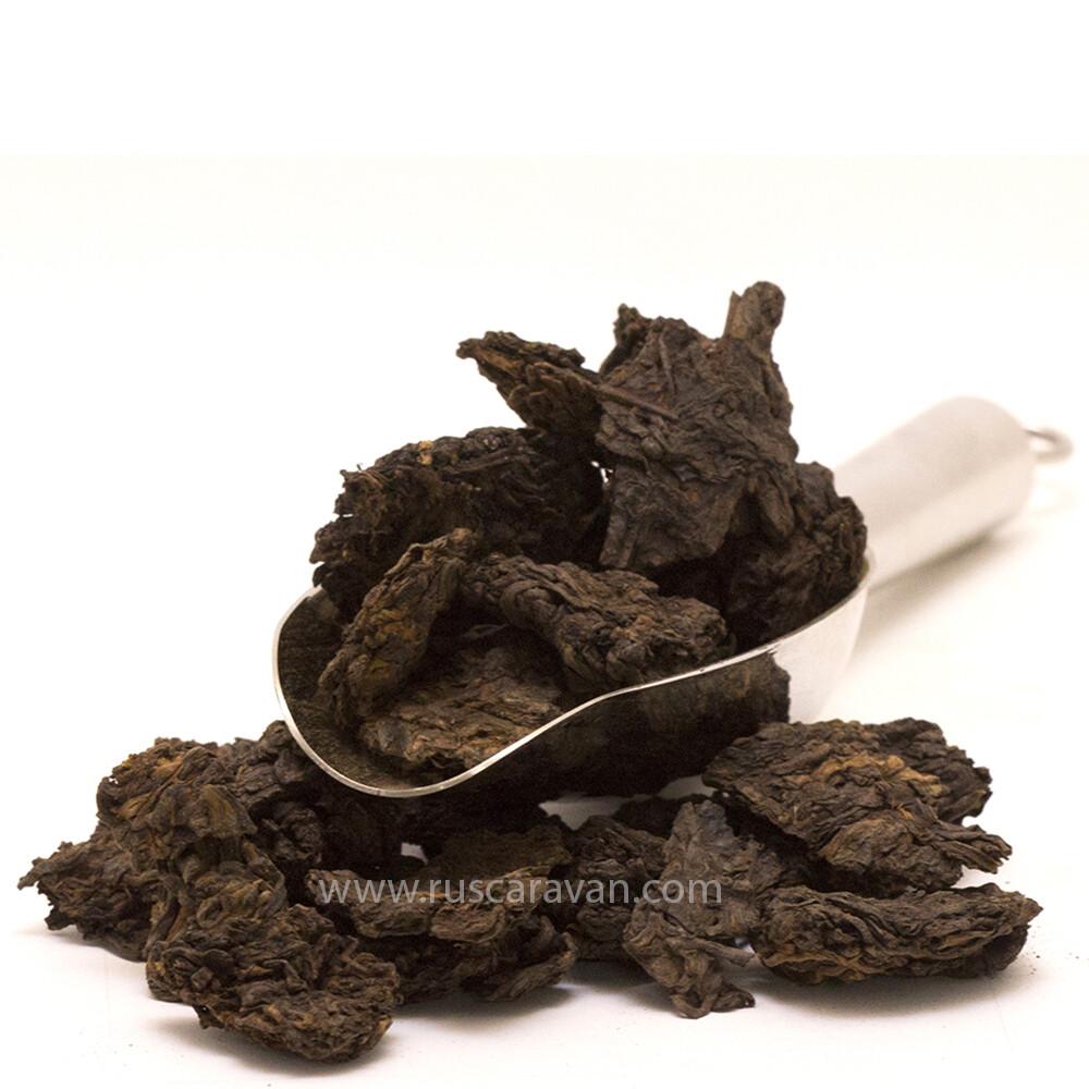 """0386к Чай черный """"Пуэр Шу Ча Тоу"""" высокосортный"""