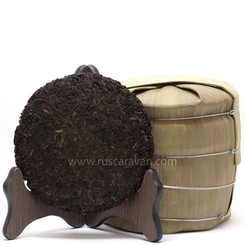 """0467к Чай прессованный черный Шу Пуэр """"159"""" Минибин (200 гр)"""