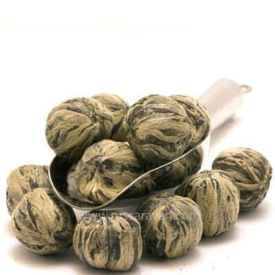 """0232к Чай связанный зеленый """"Ли Чжи"""" высокосортный"""
