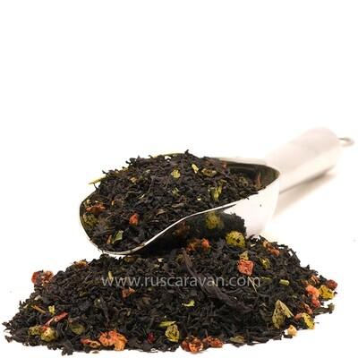 """7626D Чай черный  ароматизированный """"Купающаяся красавица """""""