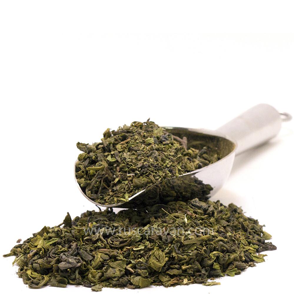 """4185 Чай зеленый ароматизированный """"Зеленая мята"""""""