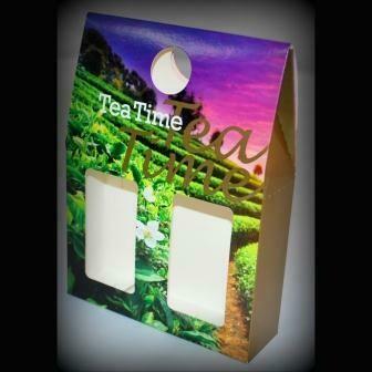"15024 Коробка/пакет подарочная ( Tea Time )  "" Чайный Цветок"""