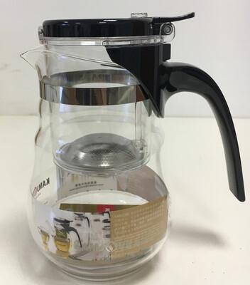 183535 Чайник изипот Kamjove TP-835 650мл стекло/пластик.Без носика,крышка на защелке. H=16, d=8,5
