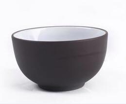 243038 Пиала, глина+глазурь, d=5см, 30 мл, цвет темно коричневый