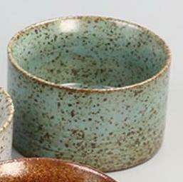 """278072.3  Пиала """"Каменная печь"""" h=43,8см, d=6,5см, 70 мл, керамика зеленый"""