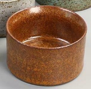 """278072.4  Пиала """"Каменная печь"""" h=43,8см, d=6,5см, 70 мл, керамика коричневый"""