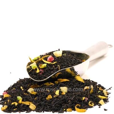 """7659D Чай черный  ароматизированный БАЗОВАЯ коллекция """"Банановый шейк"""""""