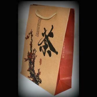 """15051 Пакет подар. """"Сакура"""" h=29см, l=22см, картон крафт"""