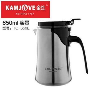 "236022.2 Чайник KAMJOVE ""Изипот ТО-650E"" б/носика, крышка с защелкой, 650мл, металл/пластик"