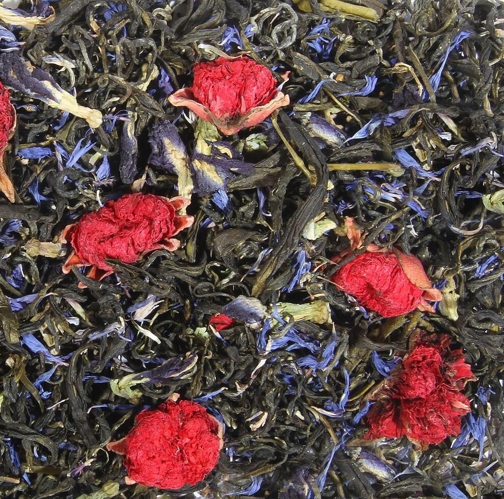"""7636D Чай зеленый ароматизированный """"Нефритовый ветер"""""""