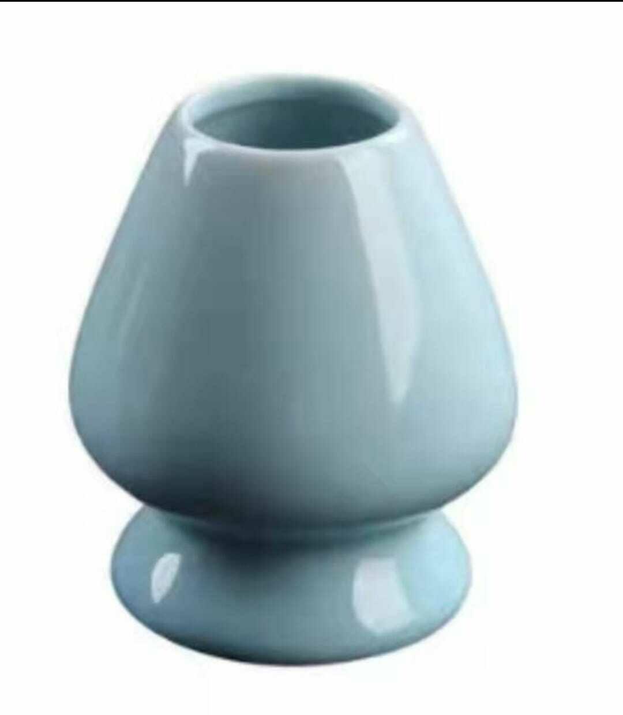 297011 Подставка для венчика для Матча, керамика, голубая