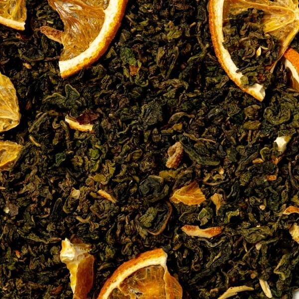 """7766D Чай улун ароматизированный БАЗОВАЯ коллекция """"Апельсиновый улун"""""""