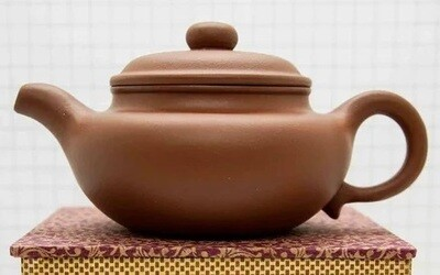 "259007 Чайник ИСИН ""Фангу"" 280мл, глина красный"