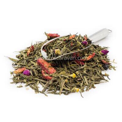 """7760D Чай зеленый ароматизированный """"Мой ангел"""""""