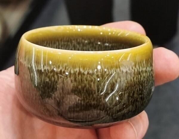 "310002.4 Пиала ""Песочная"", 100мл, 8*8*4,5, керамика"
