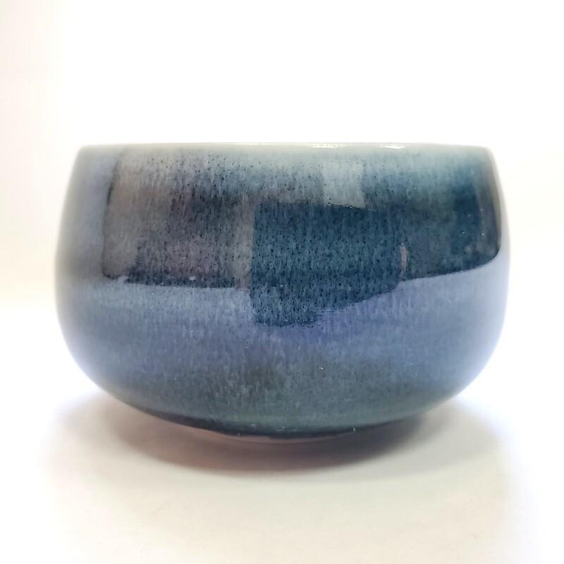 """310002.1 Пиала """"Синий лед"""", 100мл, 8*8*4,5, керамика"""