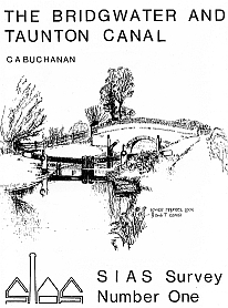 No.1: The Bridgwater & Taunton Canal >C.A. Buchanan - SIAS [Paperback - A5]