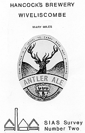 No.2: Hancock's Brewery, Wiveliscome >Mary Miles - SIAS [Paperback - A5]