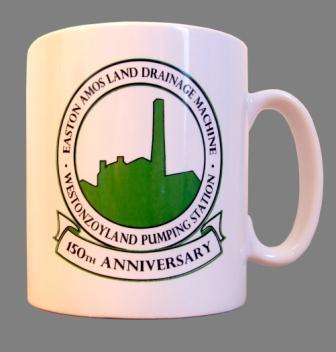 150th Easton Amos Anniversary Mug >Westonzoyland Engine Trust