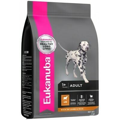 Eukanuba Adult Small and Medium Breed Dog Food – Lamb & Rice