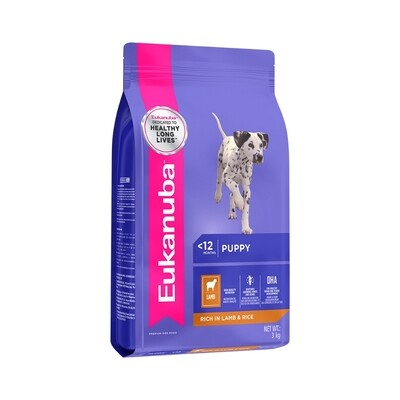 Eukanuba Puppy Small and Medium Breed Dog Food – Lamb & Rice