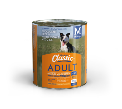 Montego Classic Wet Dog Food - Adult