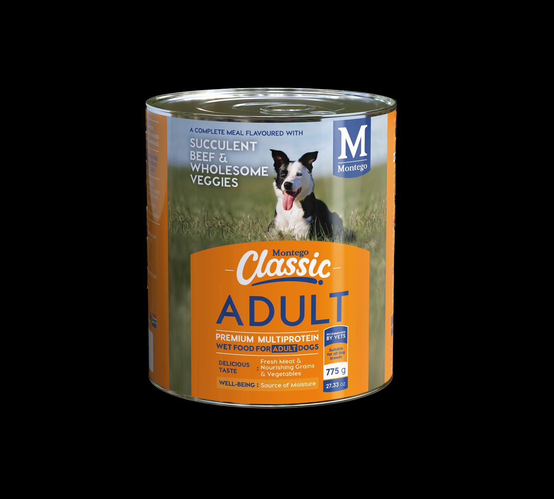 Montego Classic Wet Dog Food - Adult