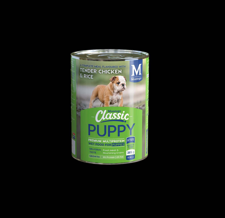 Montego Classic Wet Dog Food - Puppy