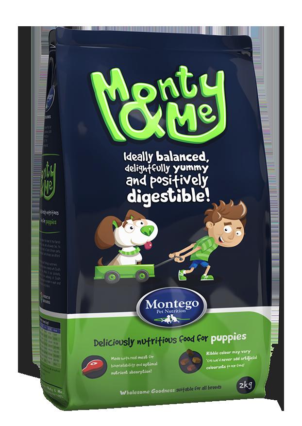 Monty & Me - Puppy Food