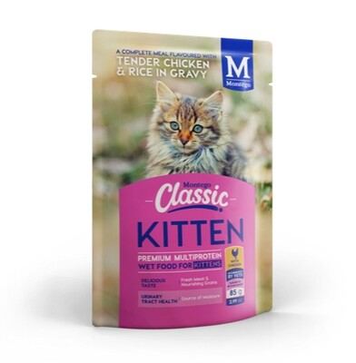 Montego Classic Wet Food - Kitten