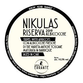 NIKULAS RISERVA '19 - ALBICOCCHE