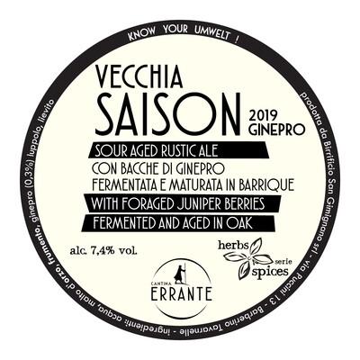 VECCHIA SAISON 2019 - GINEPRO