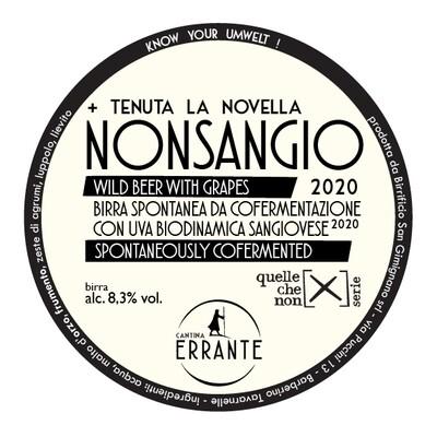 NONSANGIO 2020 (+ TENUTA LA NOVELLA)