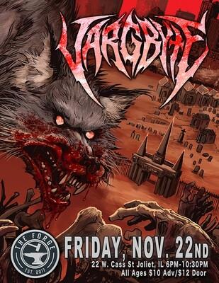 VARGBYTE Forge gig poster