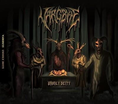 "VARGBYTE ""Unholy Deity"" CD"