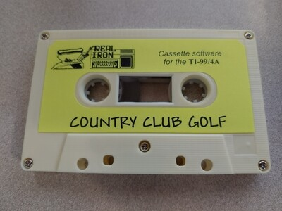 Real Iron - COUNTRY CLUB GOLF cassette