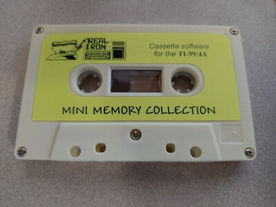 Real Iron - MINI MEMORY COLLECTION cassette