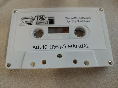 Real Iron - AUDIO USERS MANUAL cassette