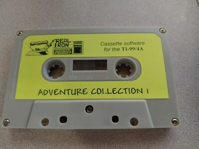 Real Iron - ADVENTURE COLLECTION 1 cassette