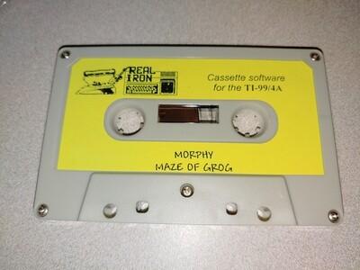 Real Iron - MORPHY/MAZE OF GROG cassette