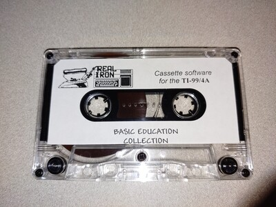 Real Iron - BASIC EDUCATION COLLECTION cassette