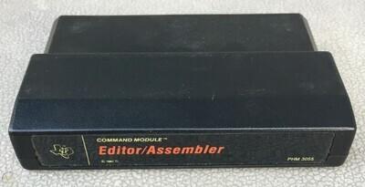 editor assembler cartridge (loose cart) black