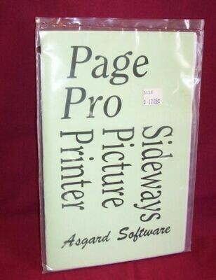 Page Pro Sideways Picture Printer