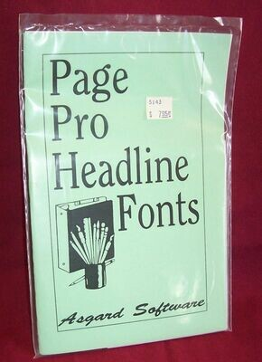 Page Pro Headline Fonts 2