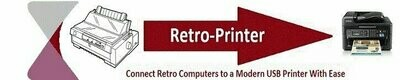 Retro-Printer Centronics Printer module V3 (raspberry pi or equivalent required)