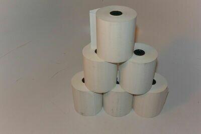 thermal printer paper 6 Rolls 3-1/8