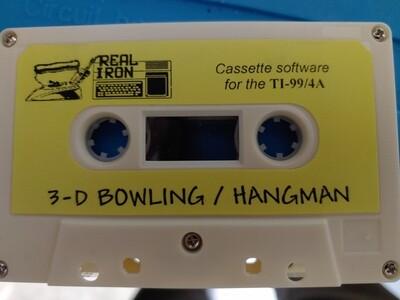 Real Iron - 3D Bowling/Hangman
