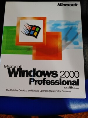 Microsoft Windows 2000 SEALED NOS